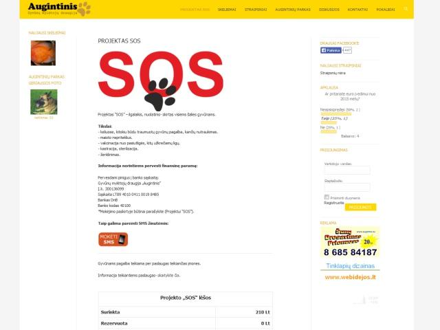 Atnaujinta internetinė svetainė