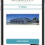 Interneto svetainės su prekių katalogu sukūrimas