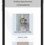 internetinis puslapis simrakt pritaikytas mobiliems