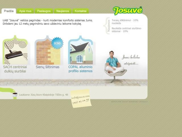 Tinklapio josuve.com atnaujinimas