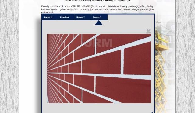 JRM interneto svetainės kūrimas