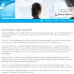 Tinklapio sukūrimas valymo paslaugų įmonei