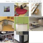 Galerijos įdiegimas sukurtame tinklapyje baldų įmonei,