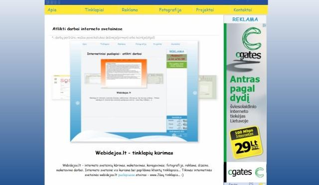 webidejos.lt – tinklapių kūrimas