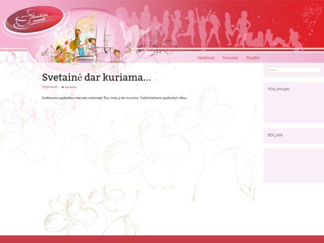 Tinklapio dizainas, TVS, forumas